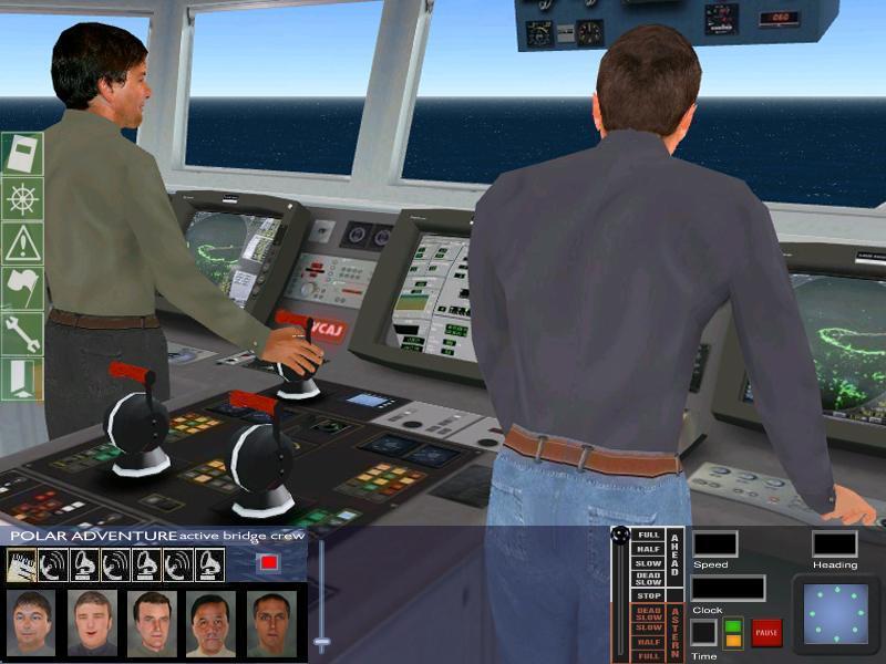 Bridge Command: manage your autonomous crew.